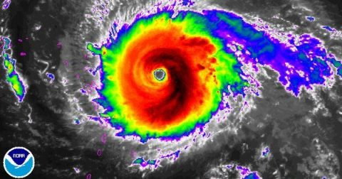 The Most Powerful Hurricane in History! (of the last half century)