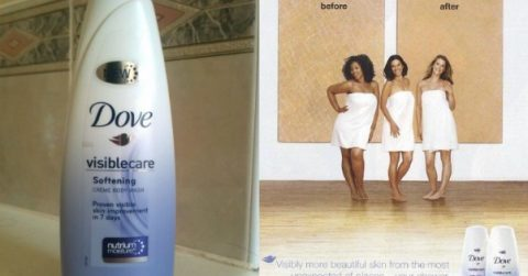 Dove Finds Mixing Business and Race Dangerous