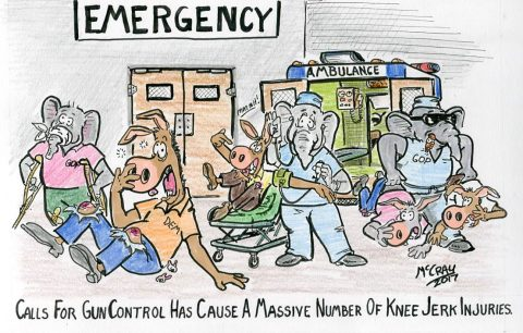 Epidemic of Knee-Jerk Injuries