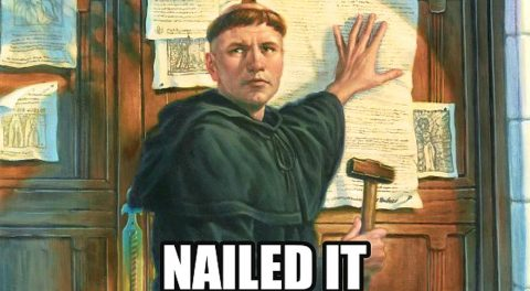 The Last Five Reformation Theses?