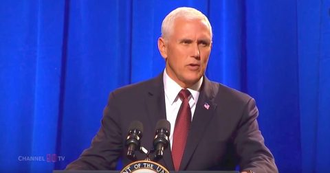 Vice President Pence Speaks Passionately in Defense of Christians Everywhere