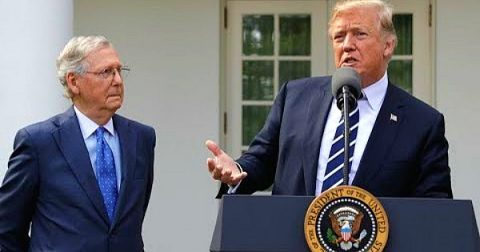 Mitch McConnell and Trump are Suddenly BFFs