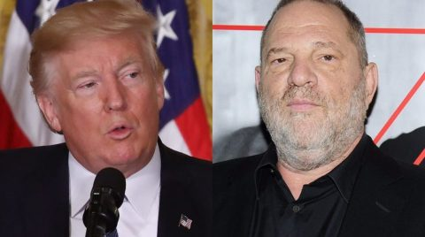 Liberal Media Labors to Equate Trump with Weinstein