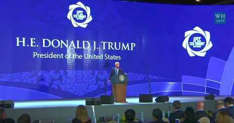 President Trump in Asia: The USA Won't be Taken Advantage of Anymore