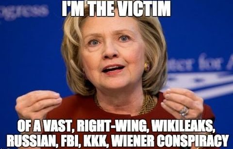 Hillary Clinton says She is Above the Law