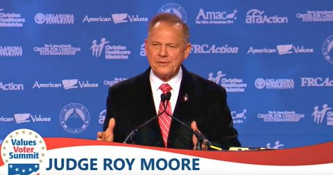 Roy Moore is Tried and Convicted in the Court of Public Opinion