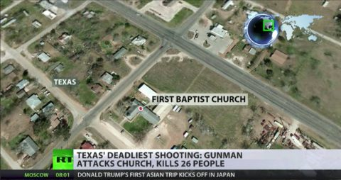 Satan is Alive and Well in Sutherland Springs
