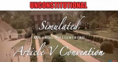 COS Uses Unconstitutional 1861 Washington Peace Conference Example for Constitutional Convention