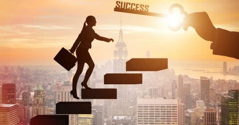 The Ladder to Success: A Poem and a Creed
