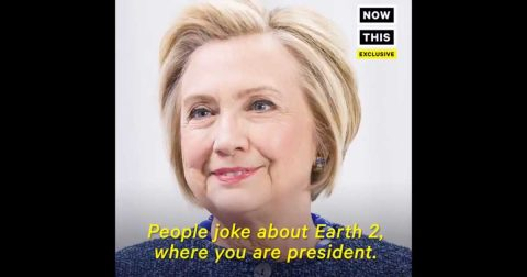 Hillary on Earth 2 would Persecute Trump