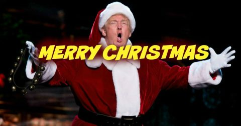 """President Trump Defies Christmas Haters, Issues """"Proud"""" Tweet"""