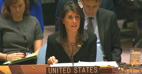 Ambassador Nikki Haley Rebukes the United Nations for their Attack on Israel