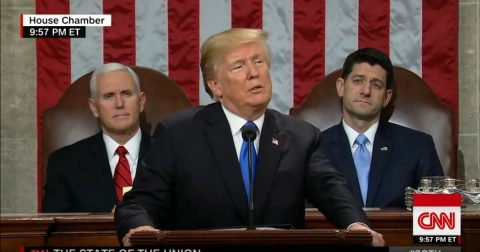 President Trump Knocks 'Em Dead at the State of the Union