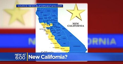 State of New California : Declaration of Independence