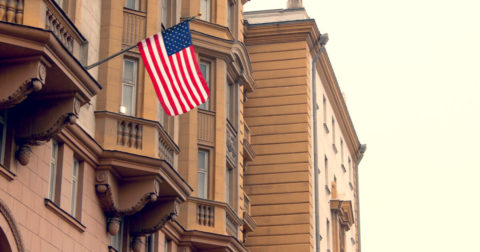 Offensive Mailing Address for the US Embassy in Moscow