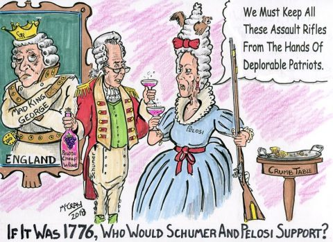 "In 1776, These Two Would Have Screamed, ""Hang Washington"""