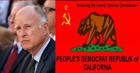 The Progressive Socialist State of California