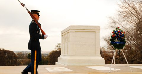 Behind the Pageantry of The Tomb of The Unknown Soldier