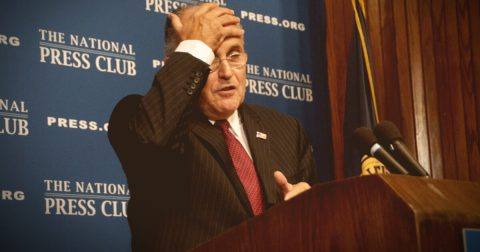 Rudy Giuliani Embarrasses Fox News Host for Defending Mueller