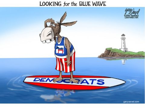 Liberals Pray for Blue Wave to Destroy America
