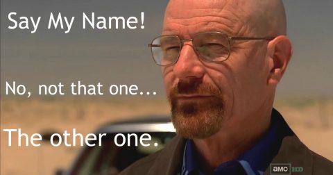 Teacher Gets the Ax over a Name