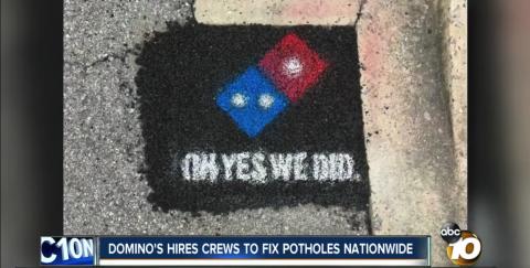 Pizza R Us: We'll Fix those Roads