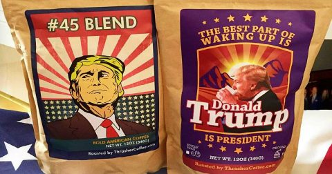 Coffee Company Attacked for Daring to Support President Trump!