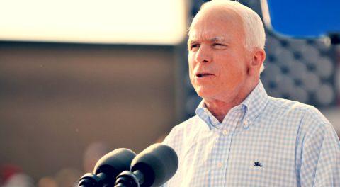 John McCain, Liberal, Socialist Hero