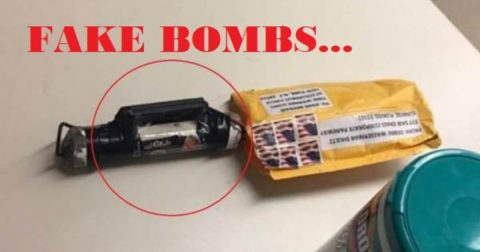 Angry Democrat Mobs, Foreign Invaders, and – Republican bombs?