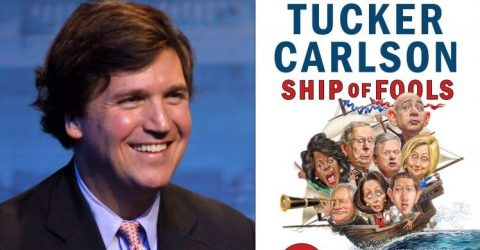 Sailing with Tucker Carlson