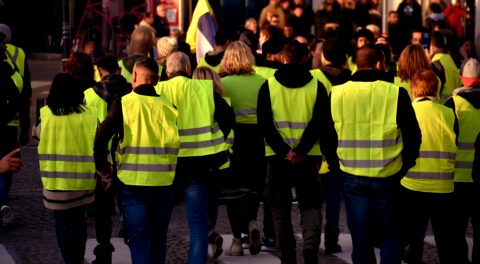 Yellow Vests Show Extraordinary Courage!