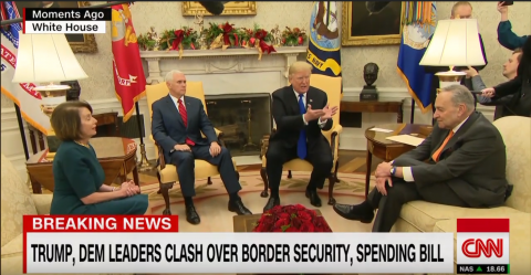 Trump Takes Pelosi and Schumer to Task