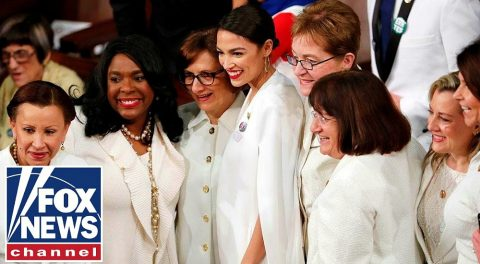 Suffragette White Mocks Far Left Women of Congress at SOTU Address – Crimson Red More Appropriate?