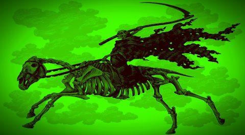 Behold, a Green Horse