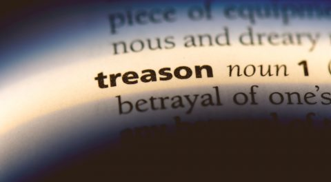 When did the Left Transition From Partisan Politics to Treason?