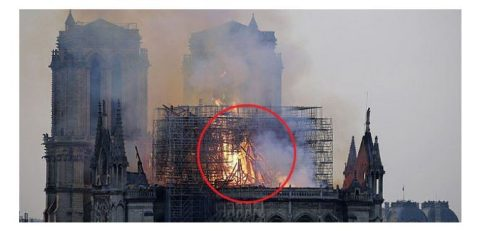 Notre Dame: Fire in an Empty Cathedral