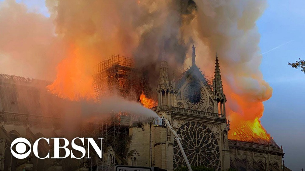Did Muslim Arsonists Start Notre Dame Fire? • Rev. Austin