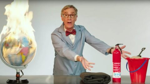 Bill Nye Rants Over AOC's Scientific Model