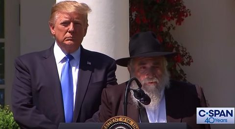 Rabbi who Survived Shooting Thanks Trump and the USA