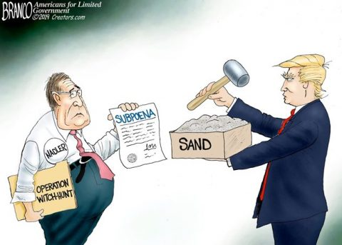 Witch Hunt 2.0 – Trump Tells Nadler to Pound Sand