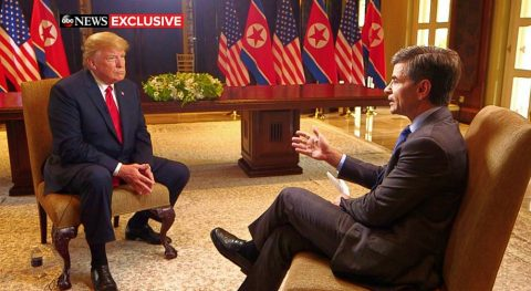 Mr. President – No More Interviews with Leftists