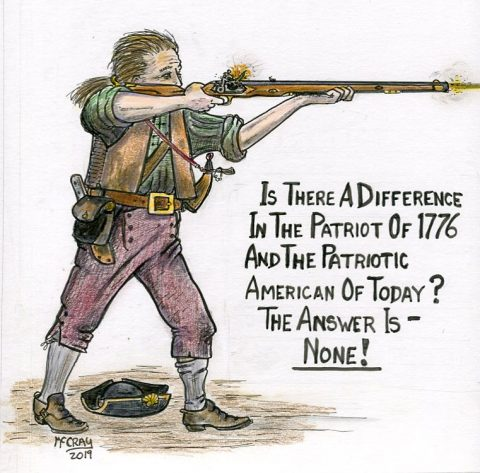 Patriots of 1776 and Today