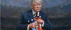 New Portrait of Trump Driving Liberals MAD(DER)